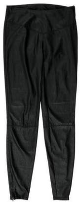 Blank NYC Low-Rise Vegan Leather Pants