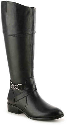 Lauren Ralph Lauren Menna Wide Calf Riding Boot - Women's