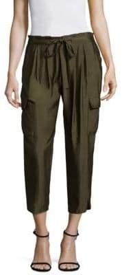 Ramy Brook Pocket Allyn Pleated Cargo Pants