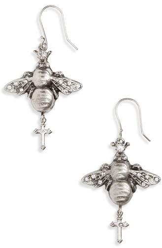 Virgins Saints & Angels Bee Mine Earrings