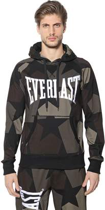 Ports 1961 Everlast Printed Hooded Cotton Sweatshirt