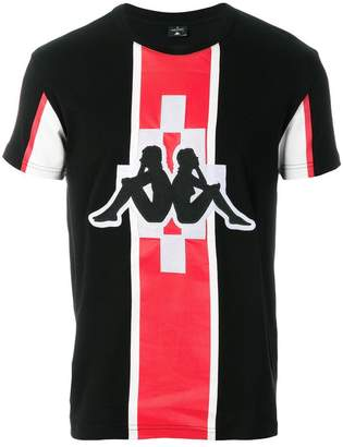 Marcelo Burlon County of Milan Kappa print T-shirt