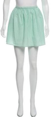 Opening Ceremony Gingham Mini Skirt