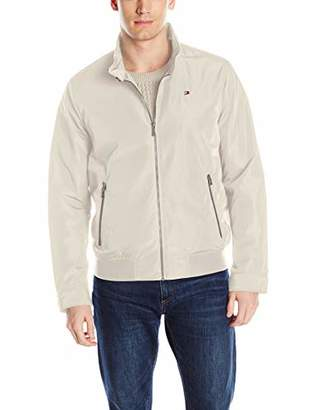 Tommy Hilfiger Men's Big and Tall Performance Barracuda Bomber Jacket