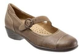 SoftWalk Chatsworth Leather Mary Jane