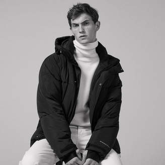 Sandro Oversized padded jacket