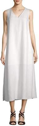 Lafayette 148 New York Women's Janae Linen Midi Shift Dress