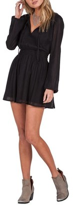 Volcom Woven Peasant Dress $59.50 thestylecure.com