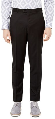 Ted Baker Metrat Debonair Wool Modern Fit Trousers $245 thestylecure.com