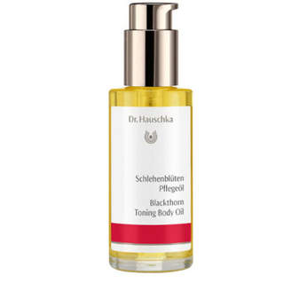 Dr. Hauschka Skin Care Blackthorn Toning Body Oil 75ml