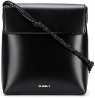 Jil Sander structured box bag