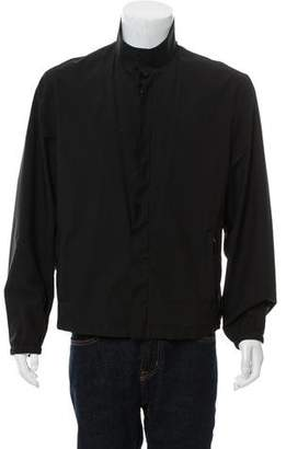 Prada Lightweight Mock Neck Jacket