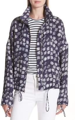A.L.C. Hawkins Print Silk Blend Jacket