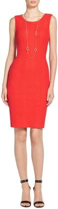 Ratana Knit Sheath Dress $895 thestylecure.com
