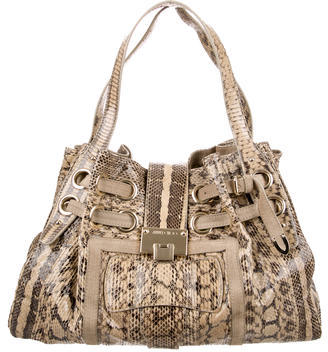 Jimmy Choo Jimmy Choo Snakeskin Ramona Bag