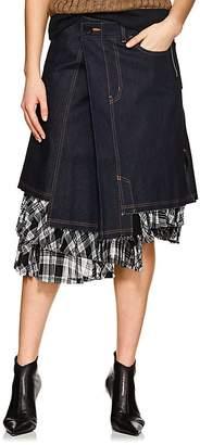 Comme des Garcons Women's Asymmetric Denim Skirt