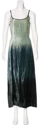 Giorgio Armani Velvet Maxi Dress