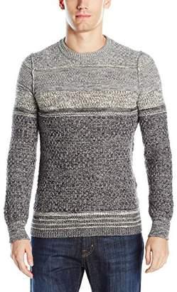 HUGO BOSS BOSS Orange Men's Agruade Ink Slub Sweater