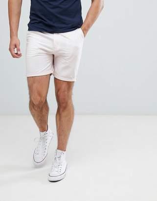 Brave Soul cotton oxford slim fit short