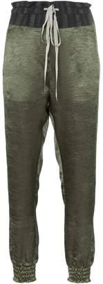 Ann Demeulemeester high-waisted drawstring trousers