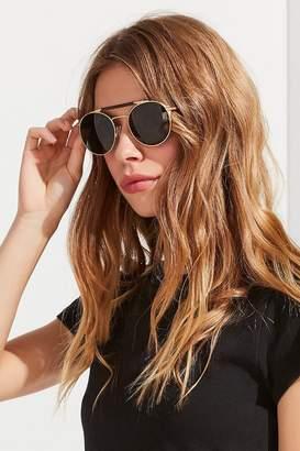 Shwood Bandon Titanium Aviator Sunglasses
