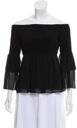Rachel Zoe Monroe Off-The-Shoulder Top w/ Tags
