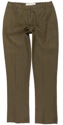 Miu Miu Mid-Rise Straight-Leg Pants
