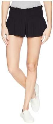 Free People Lost Girl Smocked Shorts Women's Underwear