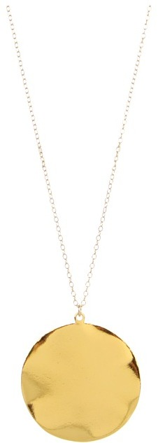 gorjana - Chloe XL Pendant Necklace (Gold) - Jewelry