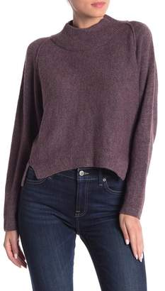 Melrose and Market Forward Seamed Dolman Sleeve Pullover Sweater