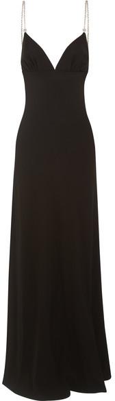 pradaPrada - Crystal-embellished Crepe Gown - Black