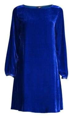 Eileen Fisher Velvet Shift Dress