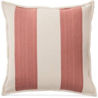 "Lauren Ralph Lauren Graydon Ticking Stripe 20"" Square Decorative Pillow Bedding"