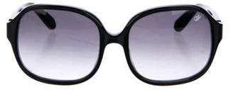 Proenza Schouler Square Gradient Sunglasses Black Square Gradient Sunglasses