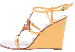 Louis VuittonLouis Vuitton Fleur Wedge Sandals