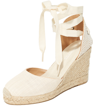 Soludos Tall Wedge Espadrilles $95 thestylecure.com