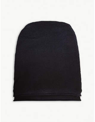Isabel Benenato Ombré knitted wool beanie