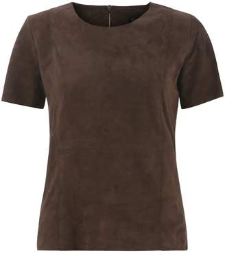 Ellesd Chocolate Suede T-Shirt