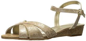 SoftStyle Soft Style by Hush Puppies Women's Midnite Wedge Sandal