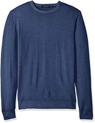 Bugatchi Men's Long Sleeve Crew Neck Contemporary Fit Sweater