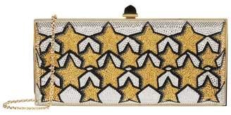 Judith Leiber Crystal Star Clutch Bag