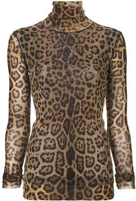 Fuzzi high neck blouse