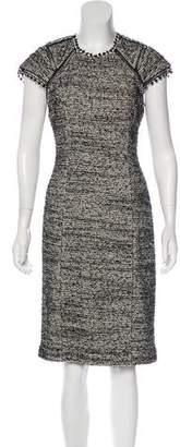 Rebecca Taylor Textured Midi Dress
