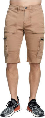 True Religion MENS CARGO MOTO SHORT