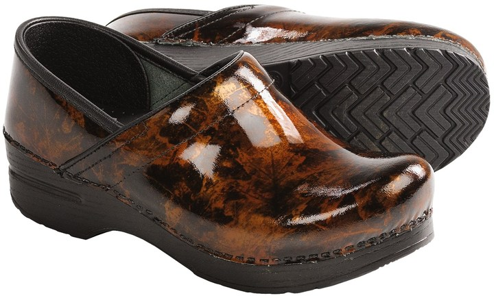 Dansko Professional Clogs - Patent Leather (For Women)