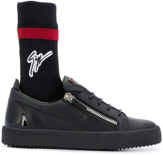Giuseppe Zanotti Design hybrid sock sneakers