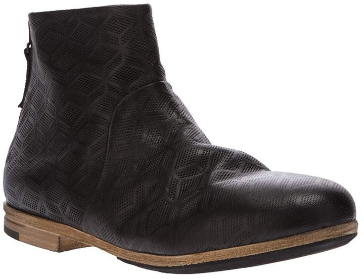 Marsèll perforated ankle boot