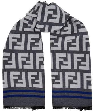 adb74f1308f get at harrods fendi logo frayed scarf 202bf dc57d