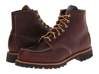 Red Wing Shoes 6 Moc Toe Lug