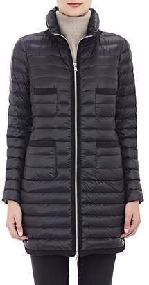Moncler Women's Down-Quilted Bogue Coat - 999 Black